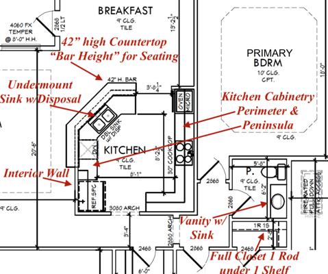 Cabinetry & Sink Design plans