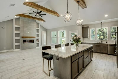 Custom Homes Kitchen