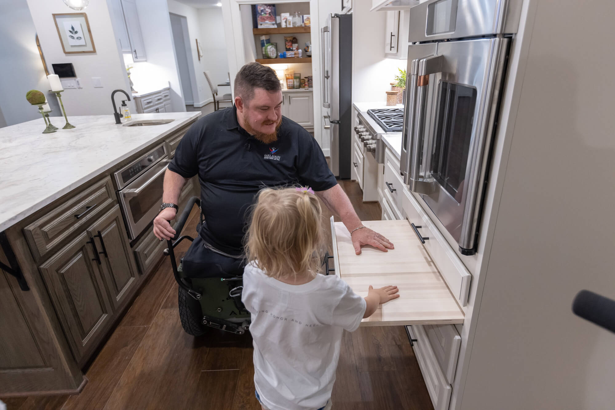Kitchen accessibility features