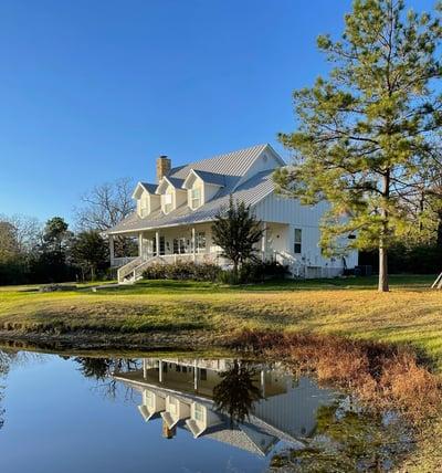 Custom Farmhouse on Lake