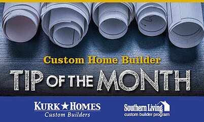 Kurk Homes Tip of the Month graphic MECH 4-25-19