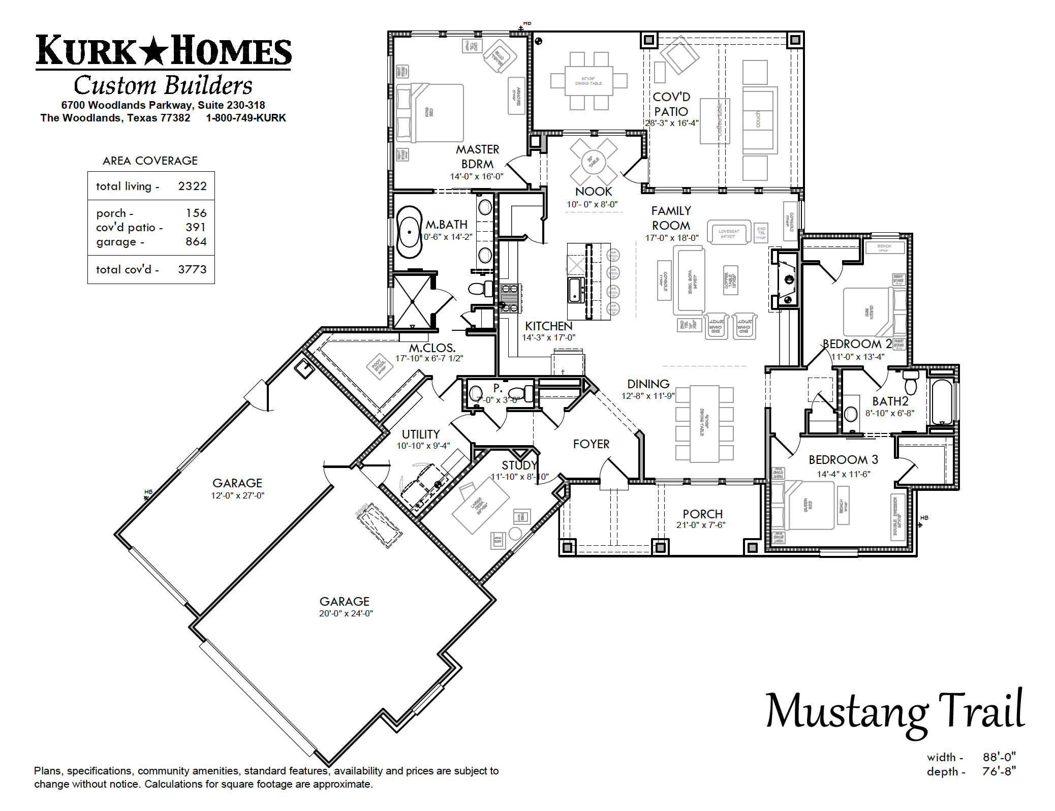 Kurk Homes Custom Builders - Mustang Trail