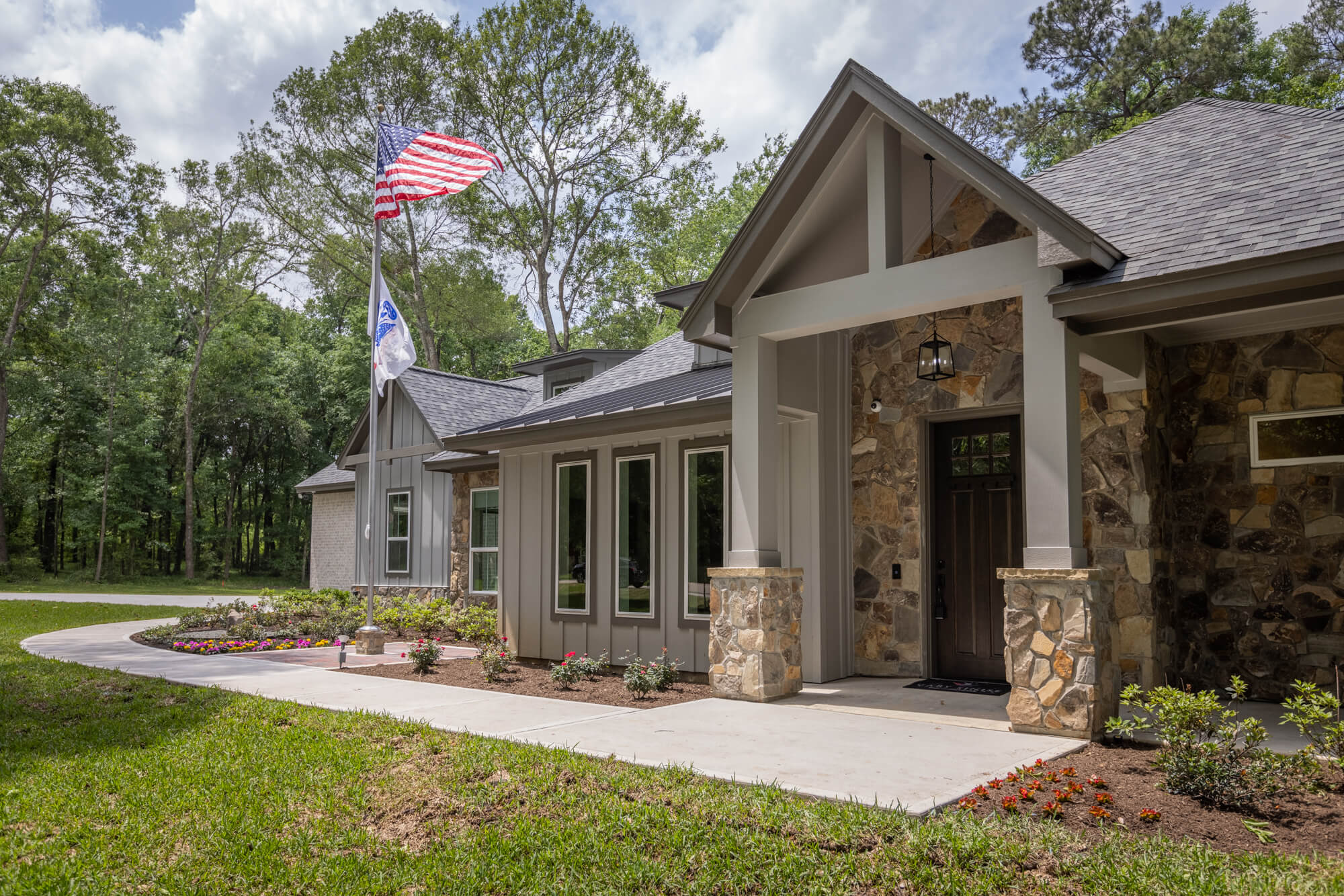 A Home for a Hero - Custom Plan Selections & Design Features