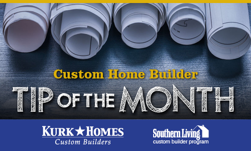 Custom Home Builder Tip of the Month: What to Bring to Your First Meeting with Your Builder