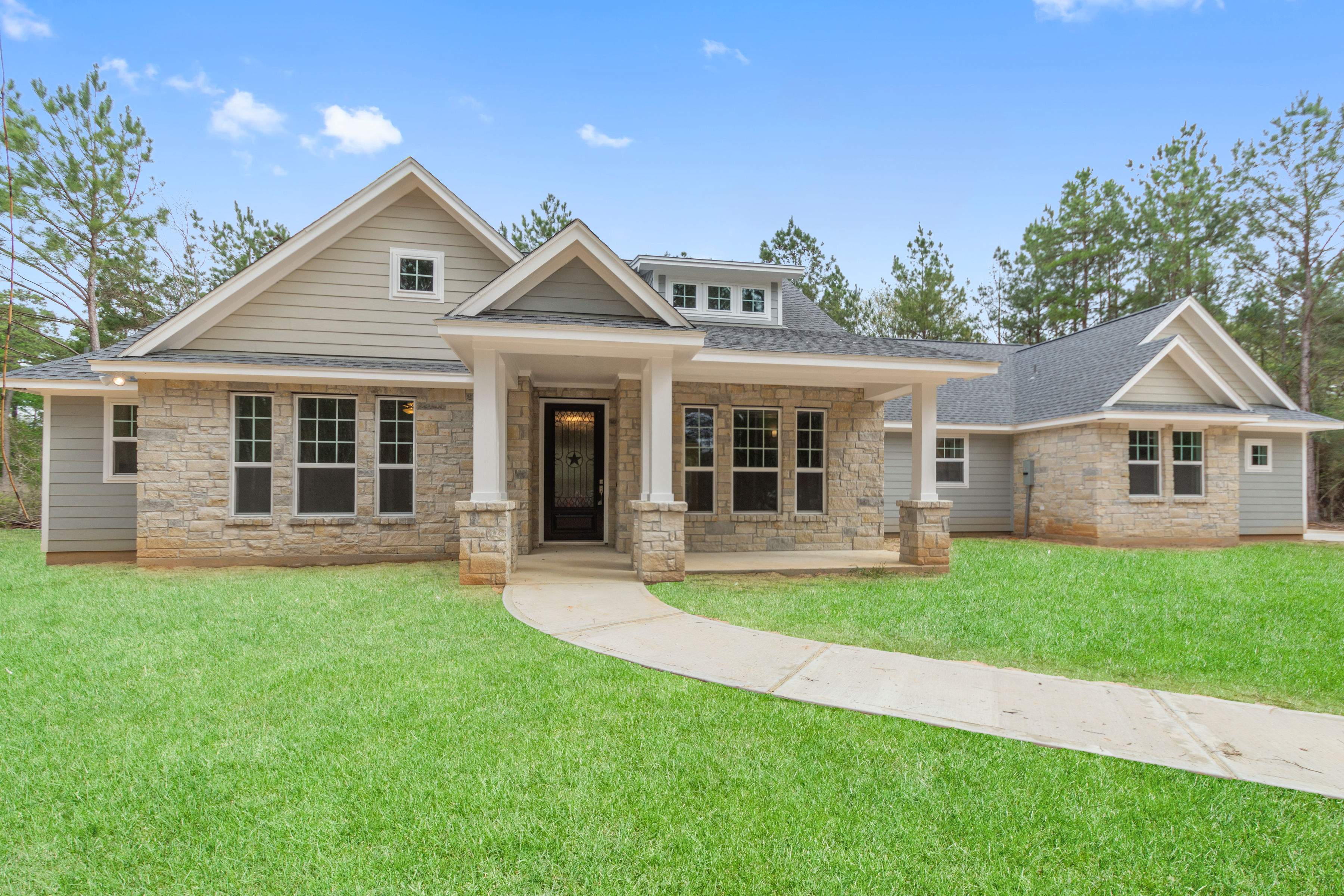 The Saddle Creek - Selections & Features of this Custom Home