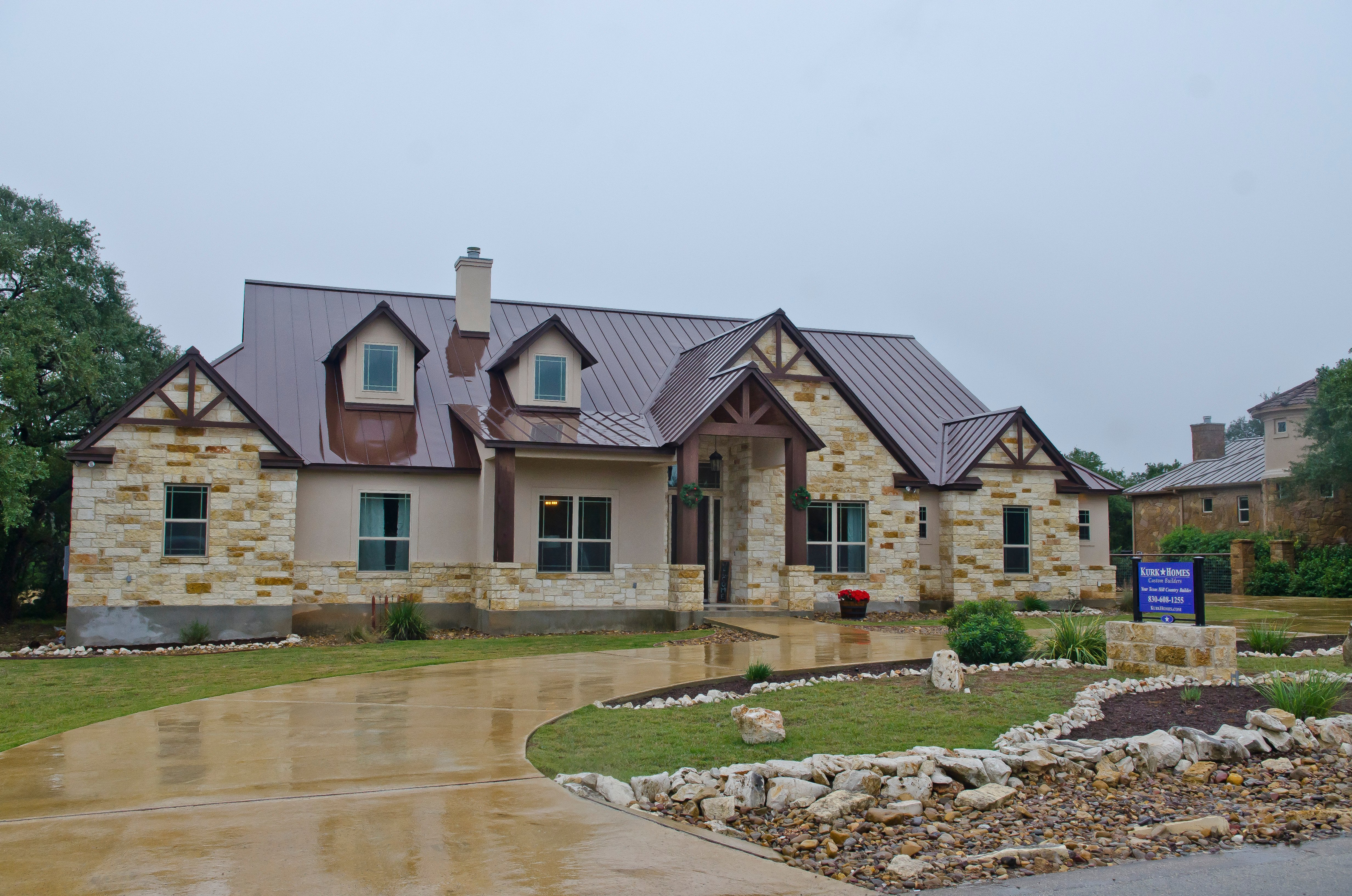 Kurk Homes – Copper Ridge Model – New Braunfels, Texas